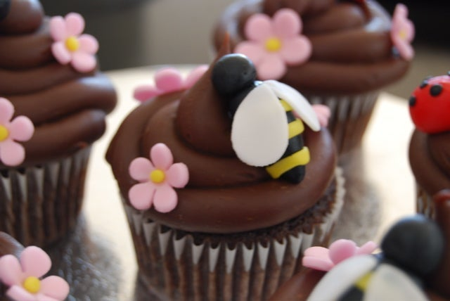 Cupcakes made by Michelle Vaughan Realtor